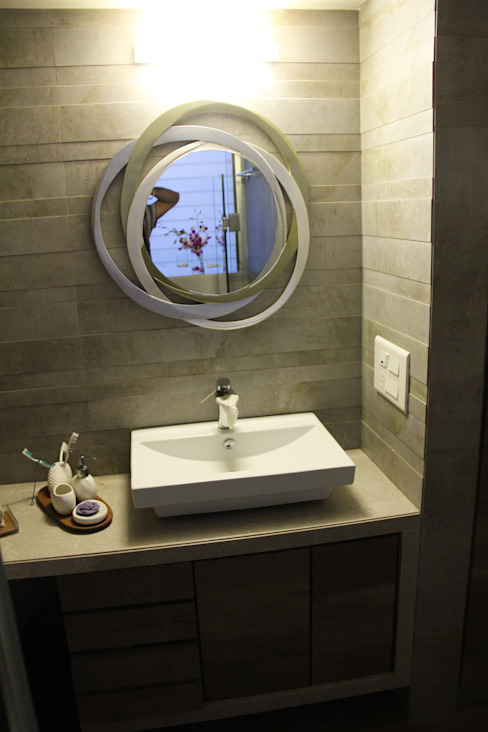 The Shah Villa Elevate Lifestyles Minimalist bathroom