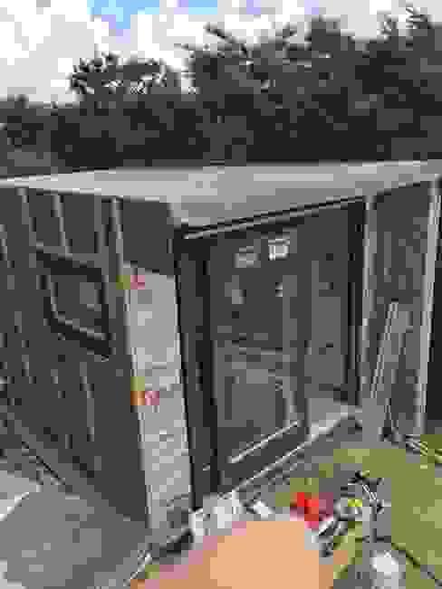 Garden Box - Porthtowan Minimalist houses by Building With Frames Minimalist Wood Wood effect