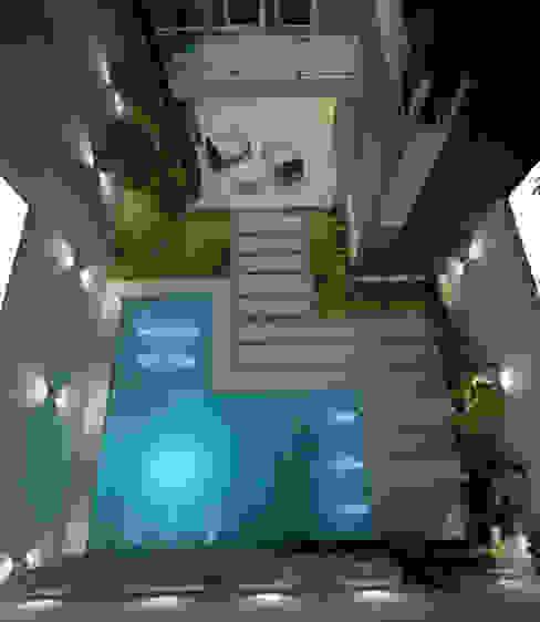Piscine moderne par FILIPPIS/DIP - DISEÑO Y CONSTRUCCION Moderne Béton