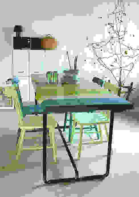 *VERONICA'S TABLE* Le 18:00 Sala da pranzo in stile scandinavo Legno massello