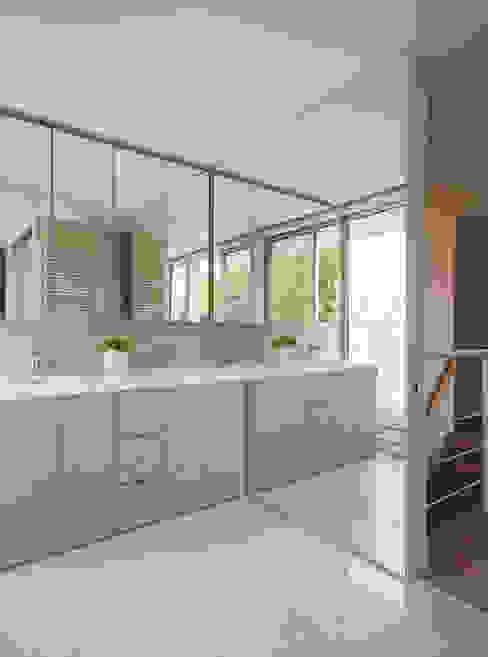 Mアーキテクツ|高級邸宅 豪邸 注文住宅 別荘建築 LUXURY HOUSES | M-architects 現代浴室設計點子、靈感&圖片