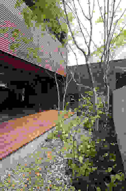 Jardins modernos por バウムスタイルアーキテクト一級建築士事務所 Moderno