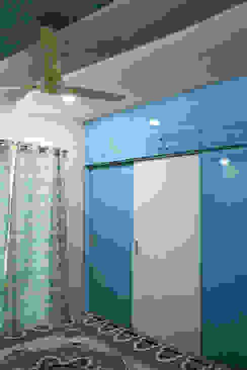 3bhk apartment in Appasamy Mapleton, Pallikaranai.. Asian style bedroom by Ashpra Interiors Asian