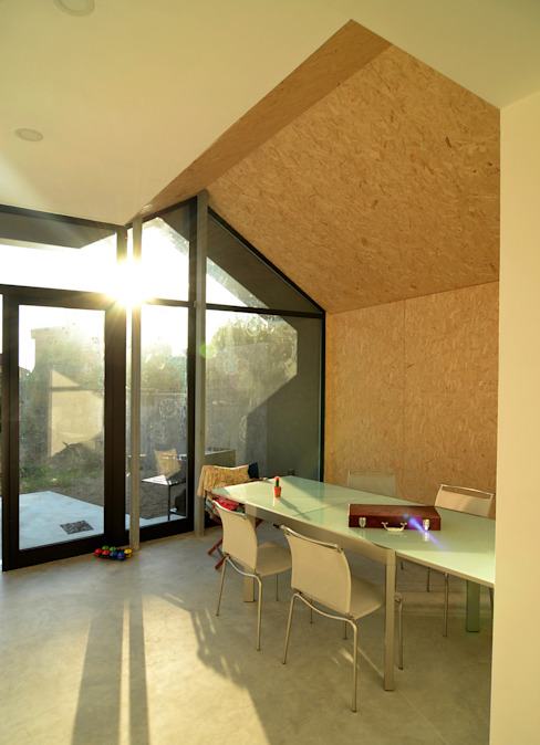 Prefabricated home by Marlegno, Modern Wood Wood effect