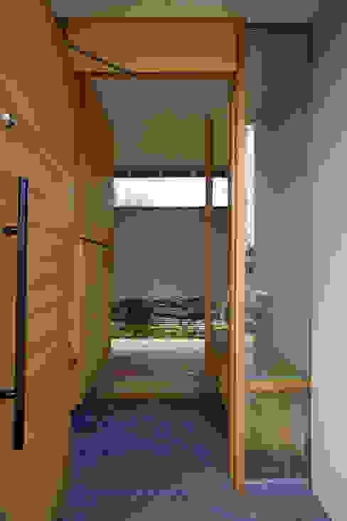 だんしゃりあん ミニマルスタイルの 玄関&廊下&階段 の 環境創作室杉 ミニマル