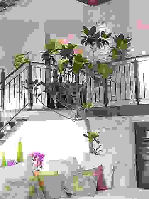 (有)ハートランド Salones de estilo moderno Verde