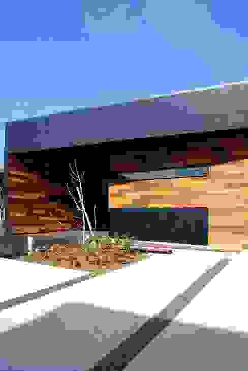 Houses by BDA.T / ボーダレスドロー, Modern Wood Wood effect