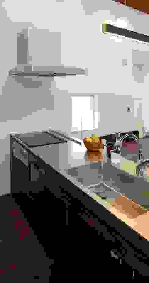 Kitchen by BDA.T / ボーダレスドロー, Modern