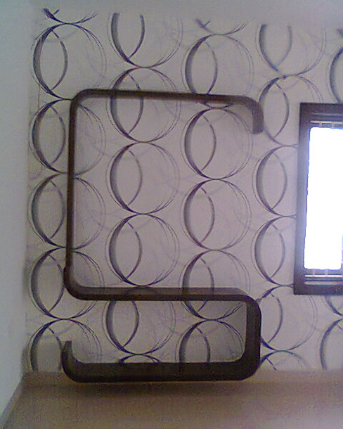 Wallpapers at 8Streaks Hyderabad: modern  by Eight Streaks Interiors,Modern