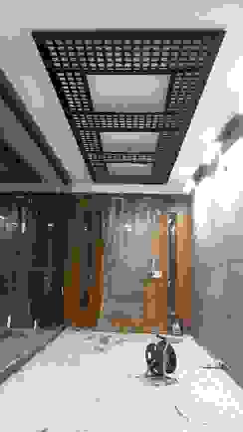 AVCILAR / İSTANBUL / KENTSEL DÖNÜŞÜM KAPSAMINDA 18 DAİRELİK KONUT PROJESİ Modern Evler CANSEL BOZKURT interior architect Modern Metal