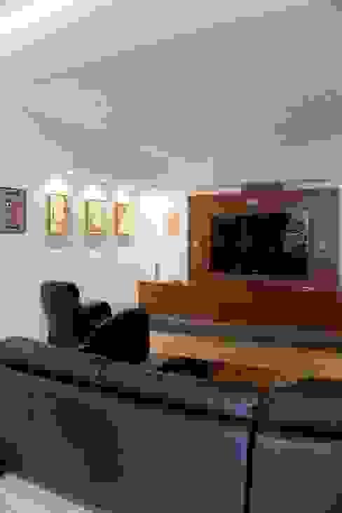 Vivienda 609 Salas de entretenimiento de estilo moderno de Objetos DAC Moderno