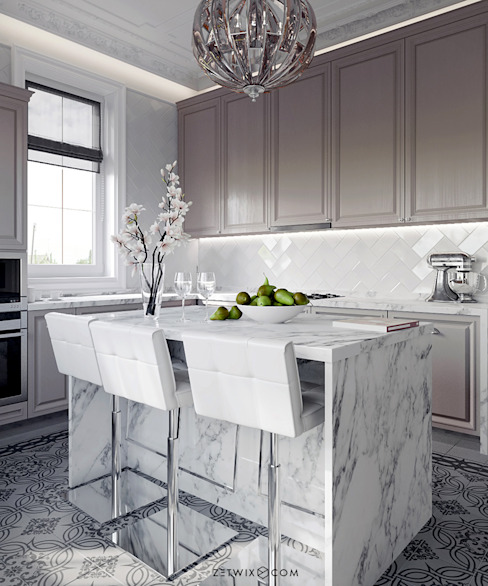 NEOCLASSICAL VIEW Кухня в классическом стиле от Z E T W I X Классический