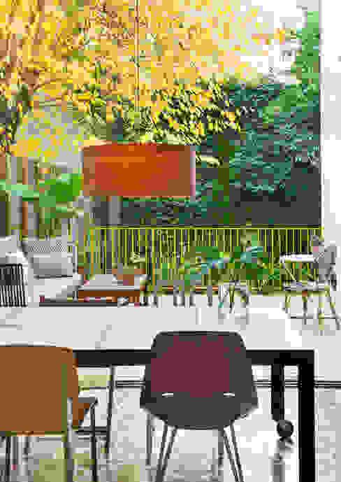 Vivienda bajos Madrazo Comedores de estilo moderno de MIRIAM CASTELLS STUDIO Moderno