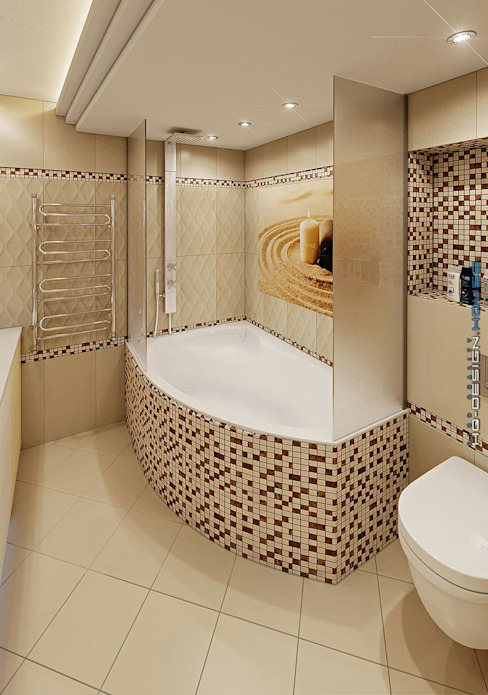 Moderne badkamers van hq-design Modern
