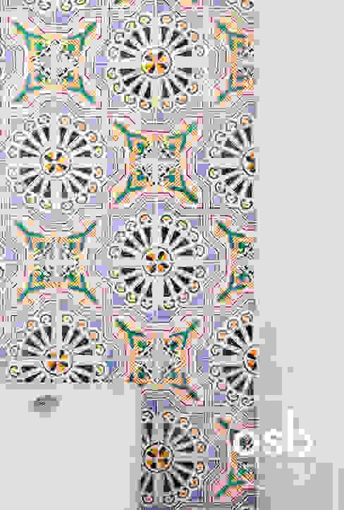 por osb arquitectos Mediterrânico Azulejo