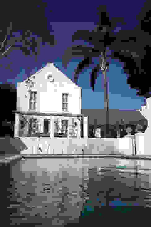 Cape Dutch Guest House by Blue Designs Architectural Designers Colonial Bricks