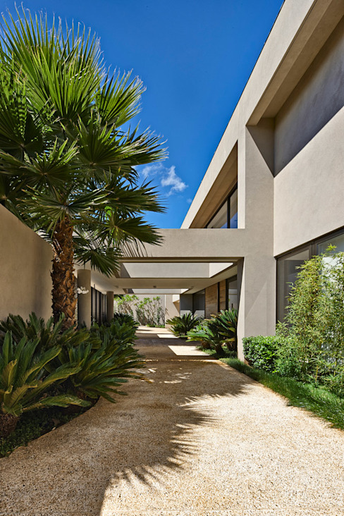 Casas de estilo  por Lanza Arquitetos, Moderno