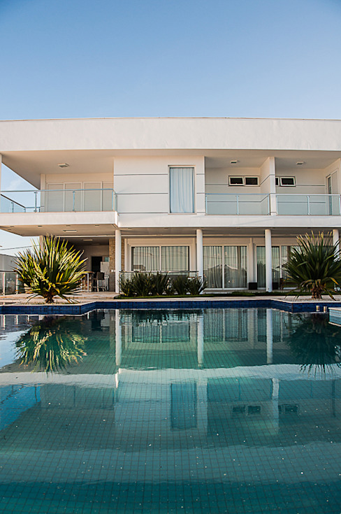 Pool by A/ZERO Arquitetura, Modern