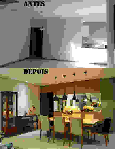 Salas de jantar  por CARDOSO CHOUZA ARQUITETOS, Moderno