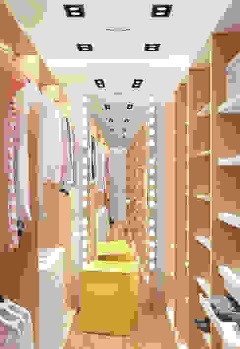 Vestidores y closets de estilo  por 2GO Design Studio, Moderno Madera Acabado en madera
