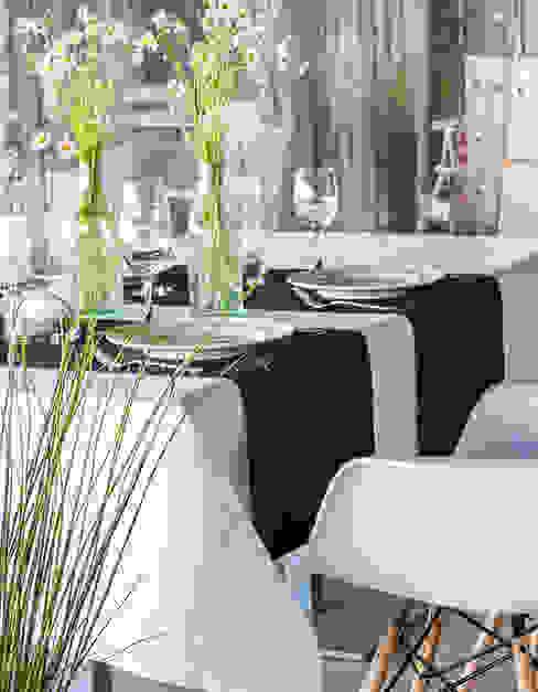 Tischdecke FLY weiß Baltic Design Shop EsszimmerAccessoires und Dekoration Baumwolle Weiß