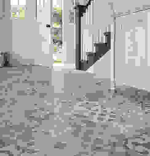 Orient Grey Patterned Porcelain Floor Tiles The London Tile Co. Walls & flooringTiles Porcelain Multicolored