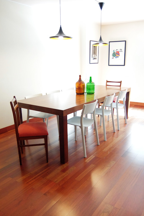 Dining room by maria inês home style, Modern