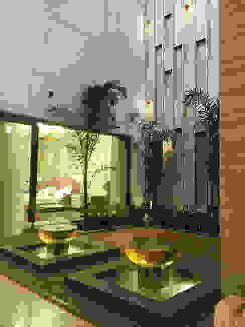 23DC Architects Couloir, entrée, escaliers modernes