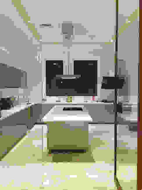 Main Kitchen Modern kitchen by 23DC Architects Modern