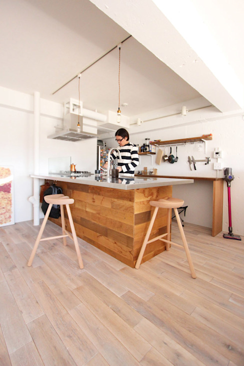 otokonoshiro Minimalistische Küchen von nuリノベーション Minimalistisch