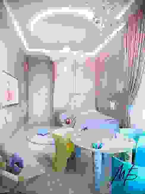 Погонный проезд Детская комната в стиле модерн от Студия Марии Боровской Модерн