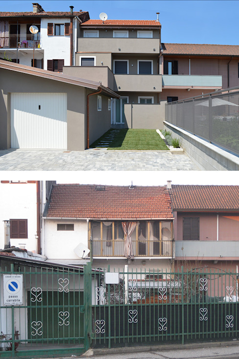 現代  by Studio di Architettura Ortu Pillola e Associati, 現代風