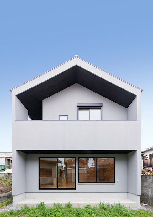 中村建築研究室 エヌラボ(n-lab) Eclectic style houses Wood Grey