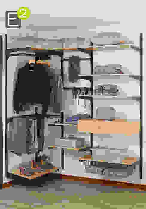 Closets de estilo  por Espacio al Cuadrado