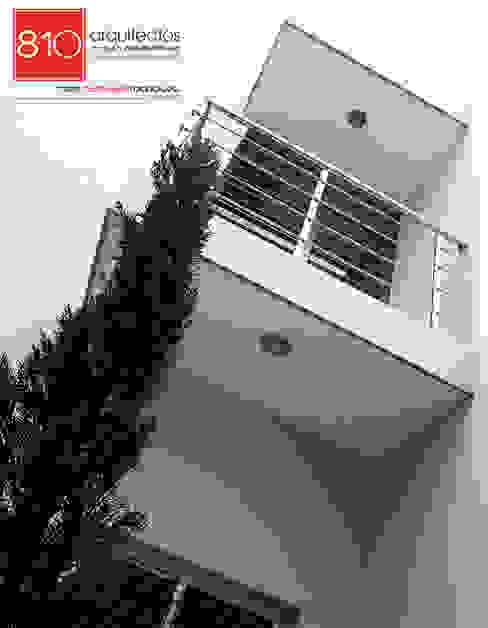 Casa Habitación. Amézquita Córdova 810 Arquitectos Casas modernas