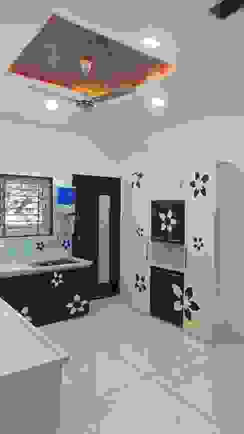 MR. Sanjay Modern kitchen by Shadab Anwari & Associates. Modern
