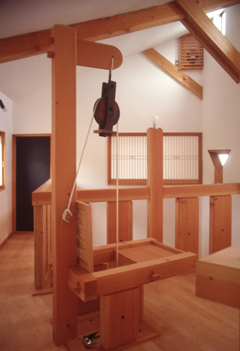 Living room by (株)独楽蔵 KOMAGURA, Eclectic