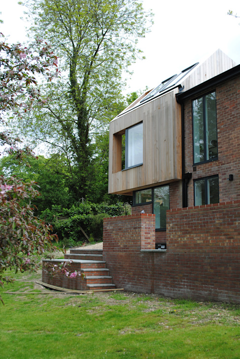 House in Winchester IV Modern houses by LA Hally Architect Modern