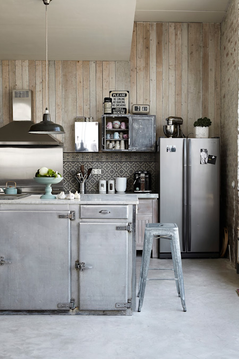 Industrial style kitchen by Design for Love Industrial