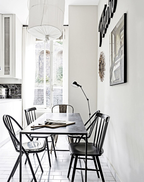 Scandinavian style dining room by Design for Love Scandinavian