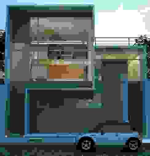 Duplex Casas minimalistas de LIMMIT Minimalista