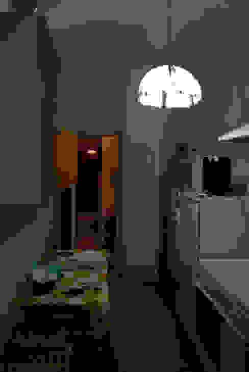 cucina pre-trasformazione Soggiorno minimalista di antoniodimaro + Partners Minimalista