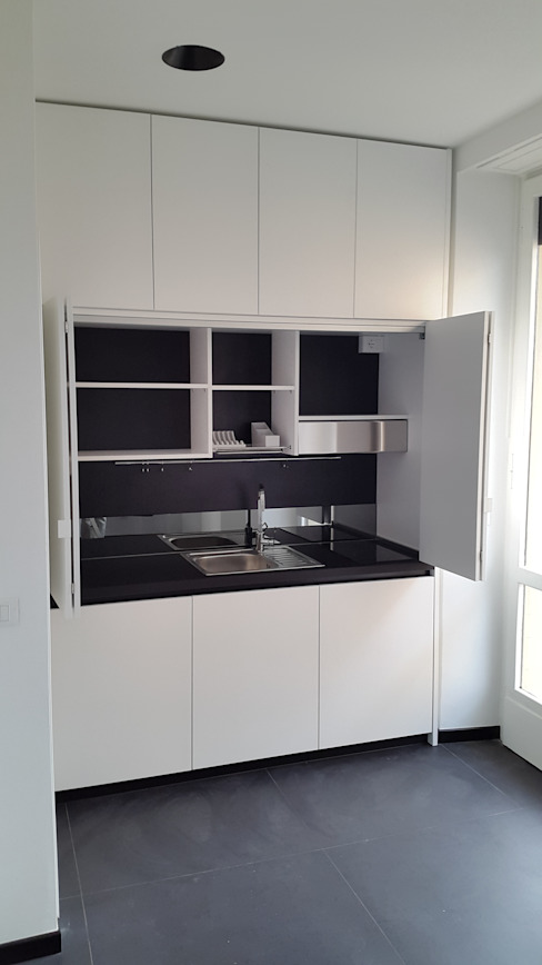 por SIZEDESIGN SMART KITCHENS & LIVING  , Moderno