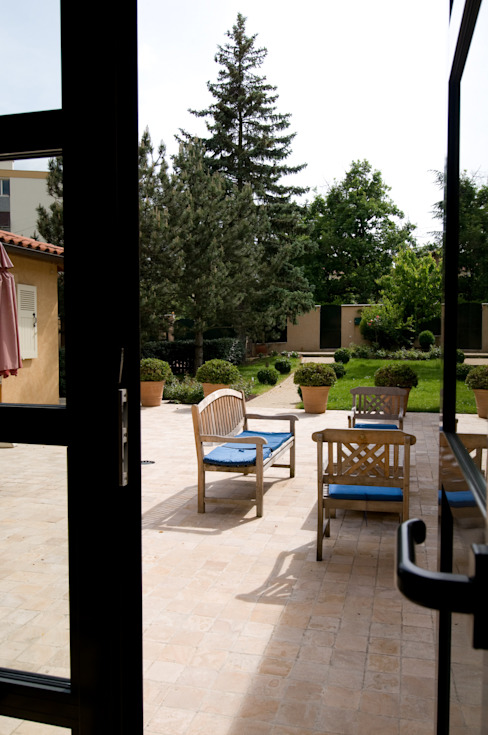 Jardines de estilo clásico de Pierre Bernard Création Clásico