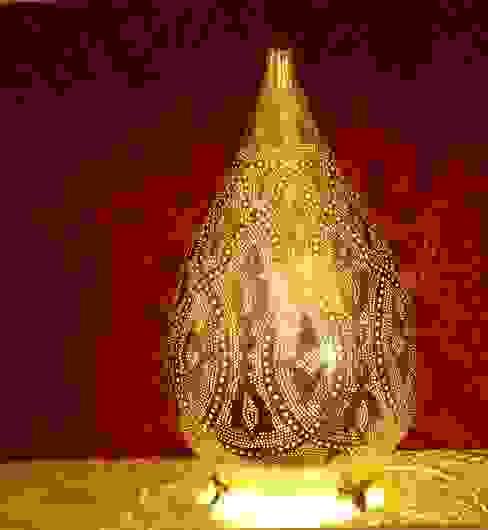 orientalische Stehlampe:   von Oriental Moon,Ausgefallen Kupfer/Bronze/Messing