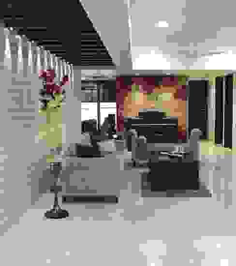 .. Modern living room by homify Modern