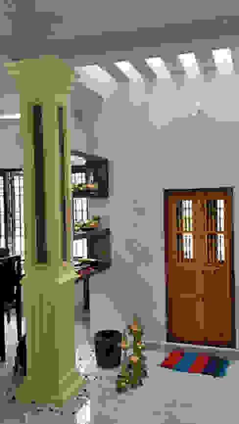 Our Interior Design Works Asian style balcony, veranda & terrace by Aishwarya Developers Asian Aluminium/Zinc