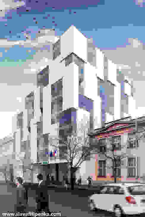 Office buildings by Slava Filipenka architect