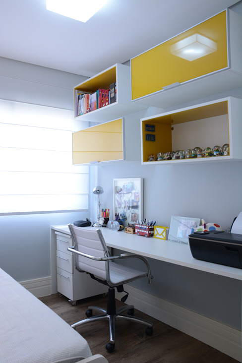 Estudios y oficinas de estilo  por Expace - espaços e experiências