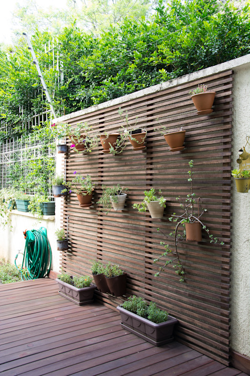 Balcones y terrazas rústicos de Expace - espaços e experiências Rústico Madera Acabado en madera